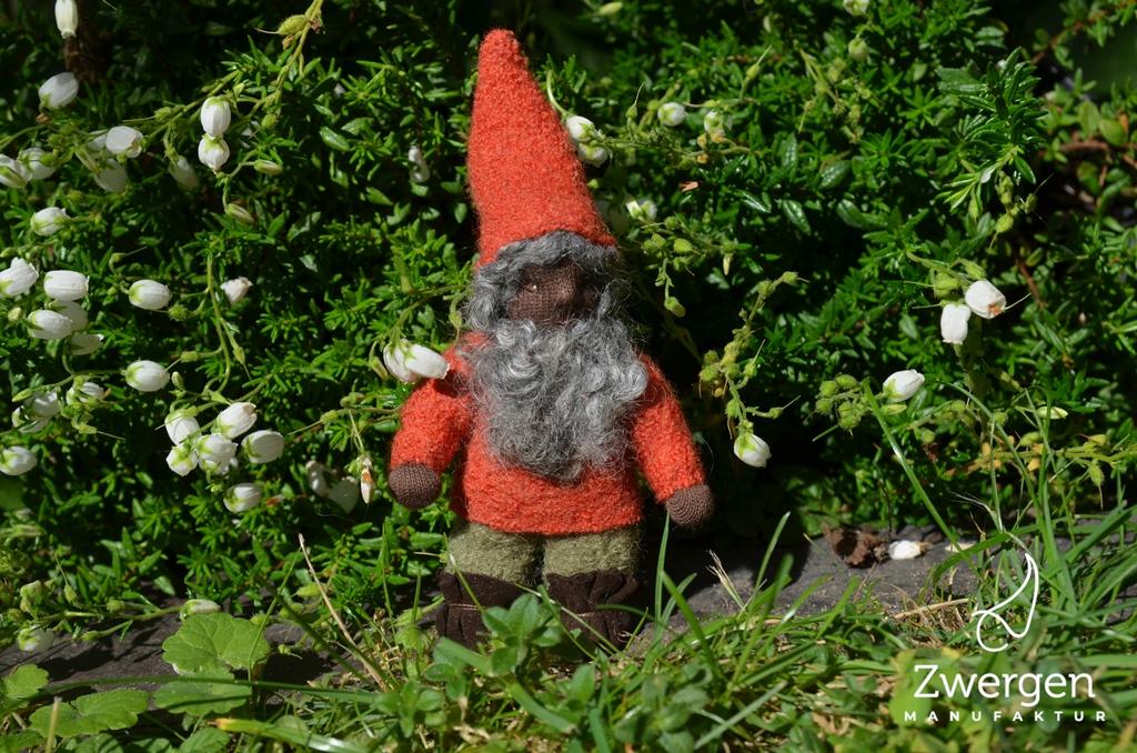 Melvin im Garten